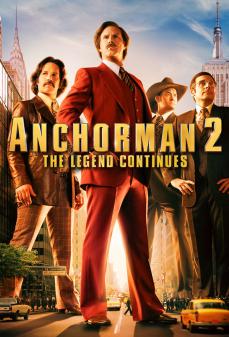 مشاهدة وتحميل فلم Anchorman 2: The Legend Continues المذيع 2: أسطورة تتواصل اونلاين