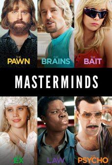 مشاهدة وتحميل فلم Masterminds عقول مدبرة اونلاين