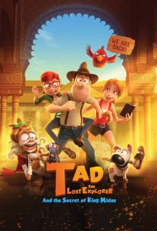 مشاهدة وتحميل فلم Tad the Lost Explorer and the Secret of King Midas  اونلاين